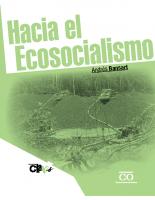 Hacia el Ecosocialismo