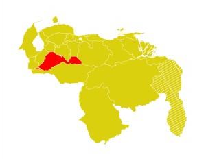 Mapa Venezuela-barinas