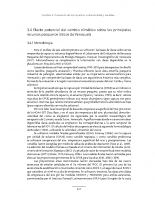 Segunda Comunicación sobre Cambio Climático IV