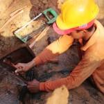 foto referencial  (3) reparación de tuberia de agua  potable