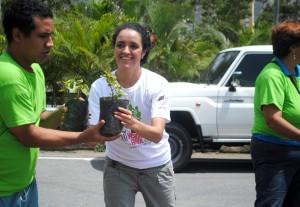 Osly Hernández, presidenta de la Misión Árbol y Conare. (Foto / Isaac Batista)