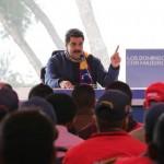 Presidente Maduro en el Waraira