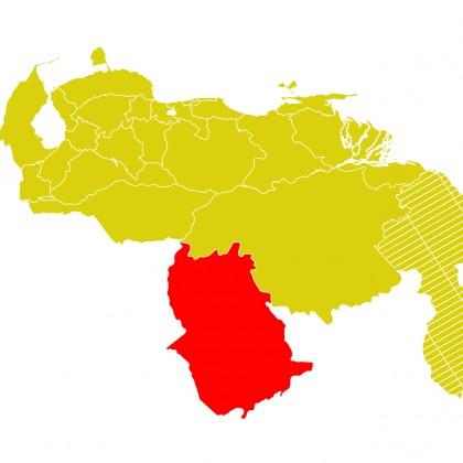 Mapa Venezuela-amazonas
