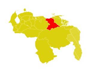 Mapa Venezuela-anzoategui