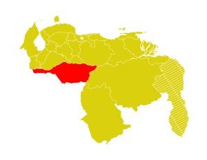 Mapa Venezuela-apure