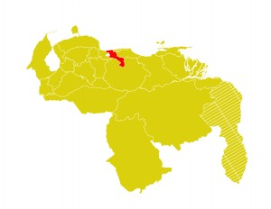 Mapa Venezuela-aragua