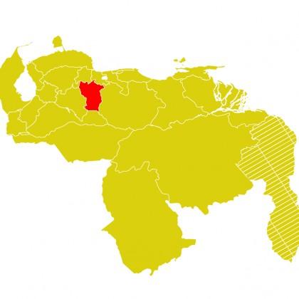 Mapa Venezuela-cojedes