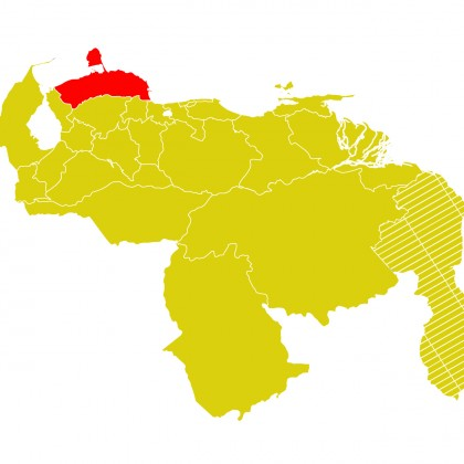 Mapa Venezuela-falcon