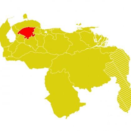 Mapa Venezuela-lara