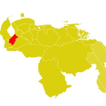 Mapa Venezuela-merida