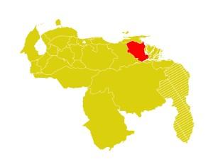 Mapa Venezuela-monagas