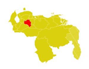 Mapa Venezuela-portuguesa
