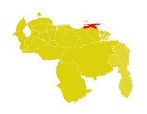 Mapa Venezuela-sucre