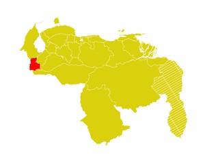 Mapa Venezuela-tachira
