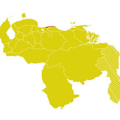 Mapa Venezuela-vargas