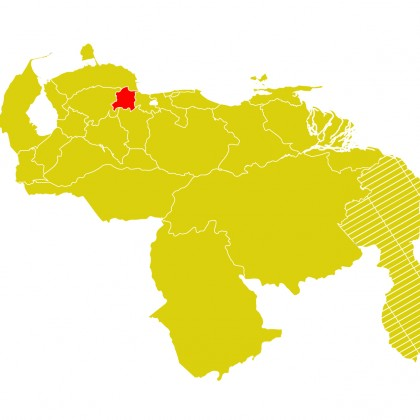 Mapa Venezuela-yaracuy