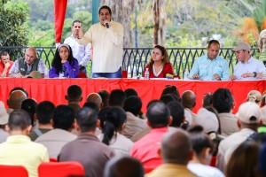 El candidato Nicolás Maduro Guerra, destacó la motivación que el pueblo tiene de cara a los comicios electorales del venidero 30 de julio. (Foto / Harrison Ruíz)