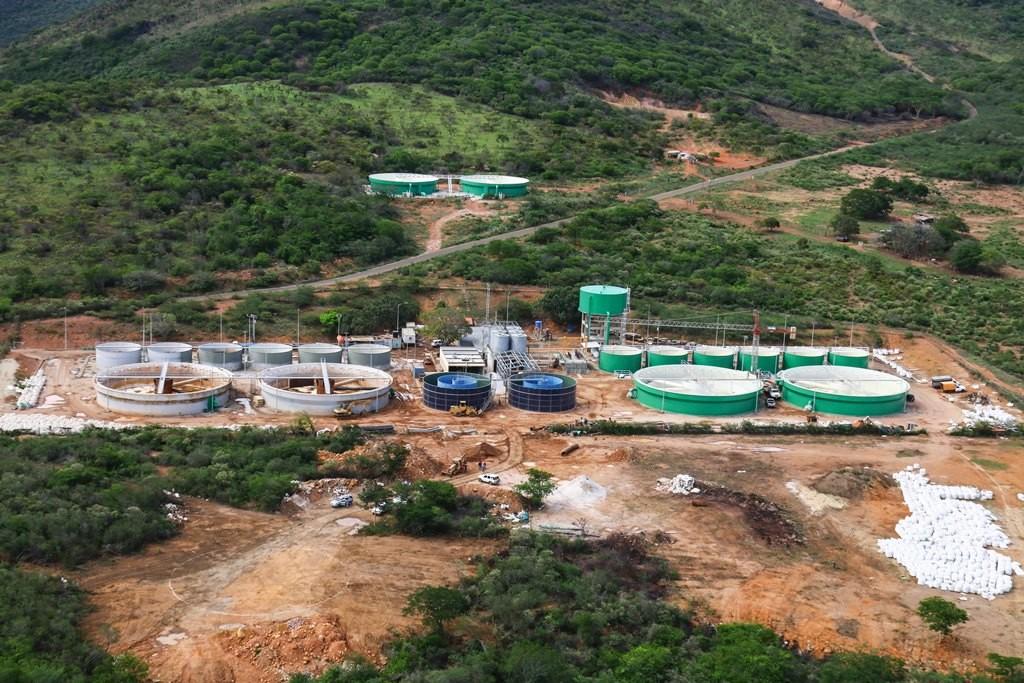 Aspecto de la planta potabilizadora de Agua Mundo Nuevo del Sistema Amana-Maturín en el estado Monagas. (Foto / Harrison Ruíz)