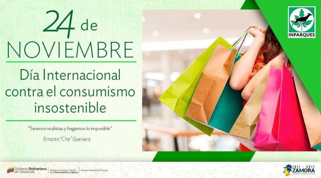 24-Dia Internacional contra el consumismo insostenible