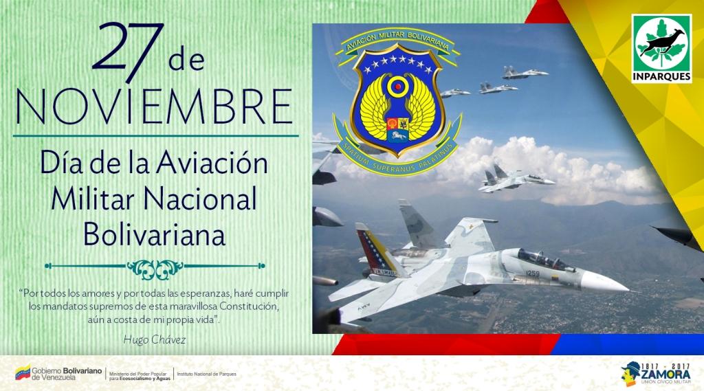 27-Dia de la Aviacion Militar Nacional Bolivariana