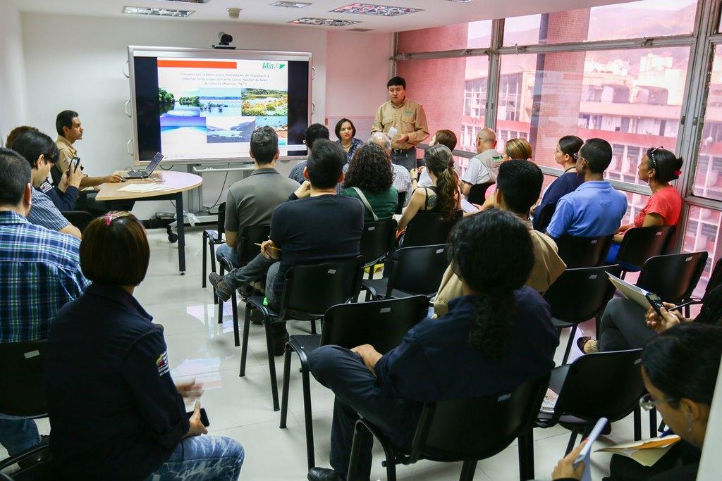 Viceministro de Gestión Ecosocialista del Minea instala Comisión Nacional sobre Humedales Ramsar